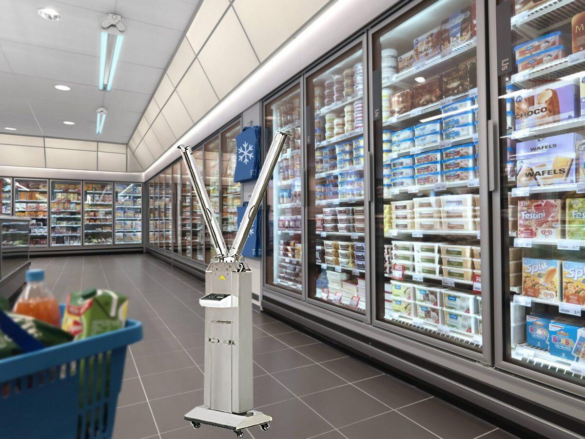 คำแนะนำร้านค้าร้านอาหารป้องกัน COVID-19 โดยใช้แสง UV-C