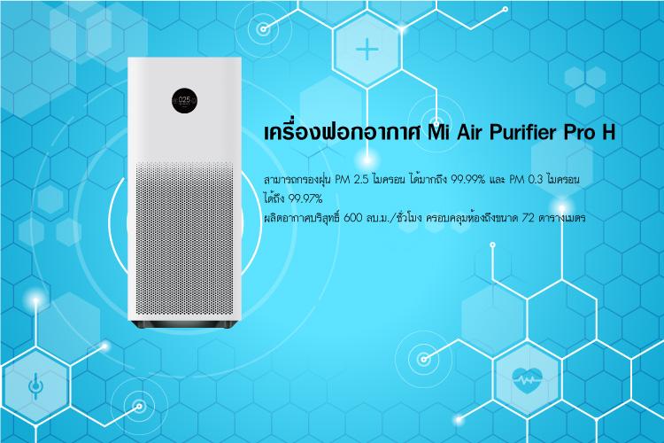 เครื่องฟอกอากาศ Mi Air Purifier Pro H