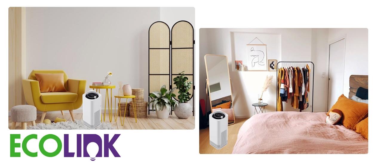 Ecolink Air Purifier UVC Small 15W ฟอกอากาศและยับยั้งเชื้อโรค ทนทานและเชื่อถือได้